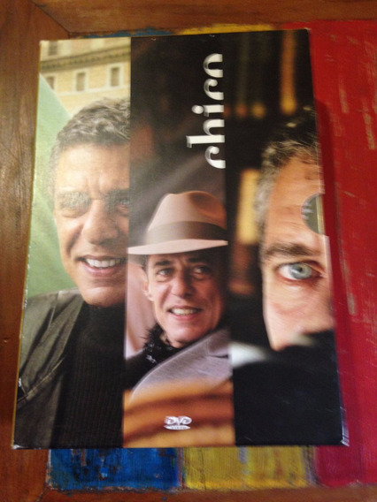 Chico Buarque Vol 1 Box Com 3 Dvds Original