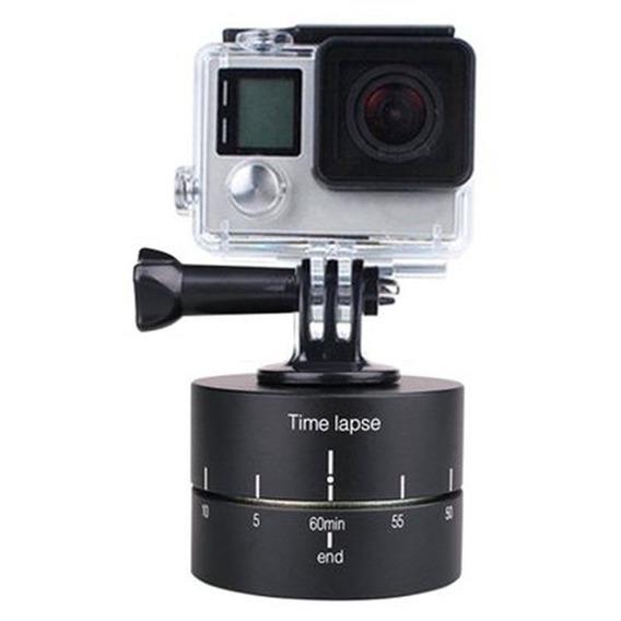 360 Grau Automático Girar Base Câmera Tripé Cabeça , 360 Tl