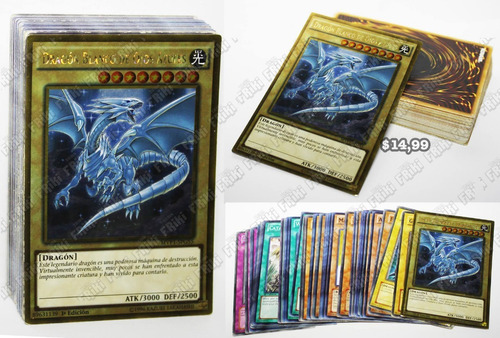 Set Anime Yu-gi-oh, Blue-eyes White Dragon (tienda Friki)