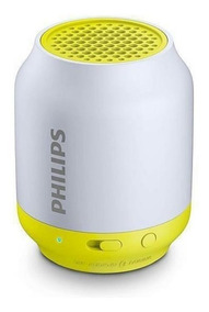 Caixa De Som Speaker Philips Bt-50 Bluetooth Branca E Verde.