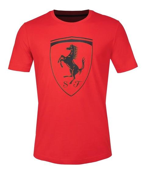Playera Puma Scuderia Ferrari Big Shield Hombre