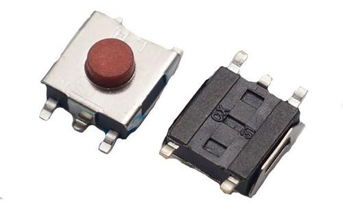 Lote 400 Pulsadores De 5 Pines Push Boton Interruptor