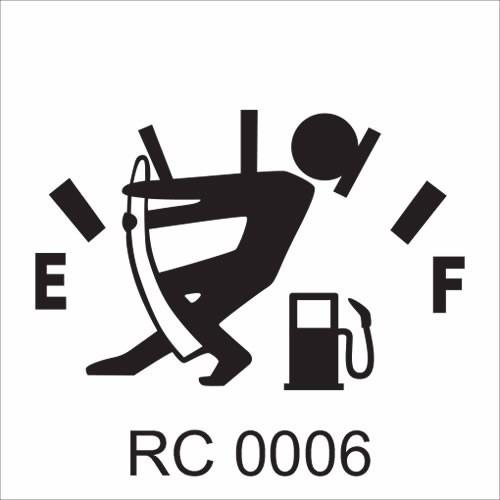 Adesivo Carro Rebaixado Tuning Suspensão Fixa 05 Unidades