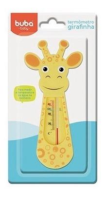 5240 Termômetro Girafinha Buba Laranja.