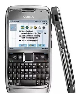 Celular Nokia E71 Preto - Câmera 3.2mp C/ Flash, Filmadora, 3g, Gps, Mp3 Player, Rádio Fm