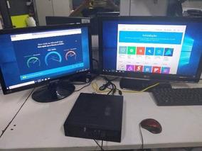 Computador Mini Slim Cpu Intel Core Ssd 120gb Ddr3 4gb