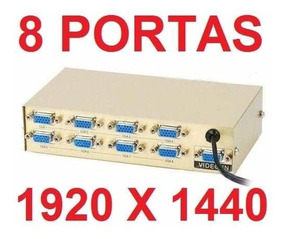 Video Splitter vga 8 Portas - distribuidor de Video