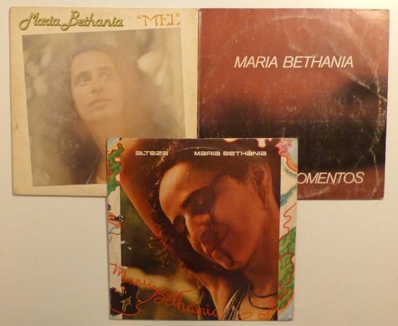 Maria Bethania Discos De Vinilo Lp Lote X 3