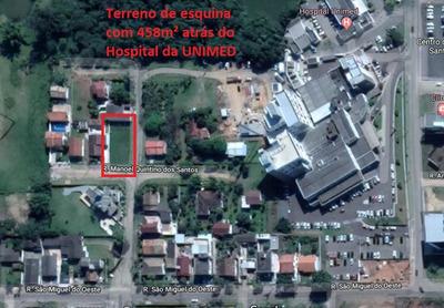 Terreno De Esquina 458,00m² Criciúma - Bairro Ceará (unimed)