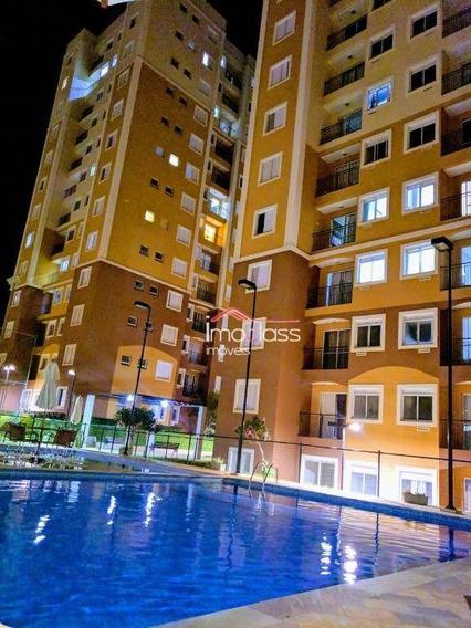 Apartamento Com 2 Dormitórios À Venda, 59 M² - Residencial Dona Margarida - Santa Bárbara D