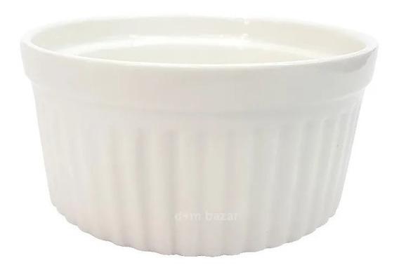 Souflera Porcelana Blanca Grande