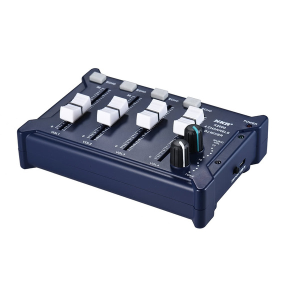 Professional Mini Pocket 4-channel Mono Azul