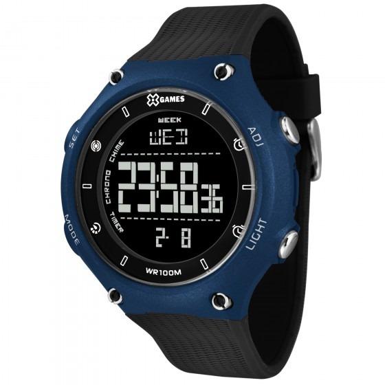 Relógio X Games Masculino Xmppd479 Pxpx Preto - Refinado