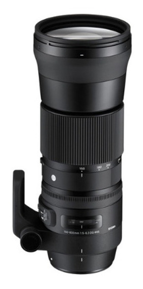 Lente Sigma 150-600mm F5-6.3 Dg Os Hsm Conteporar Para Canon
