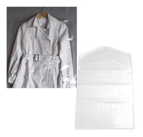 Capa Protetor Plástico P/ Roupa 56x73 C/100