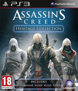 Assassins Creed 1 2 3 4 Rogue 9 Juegos Todos Los Dlc Ps3