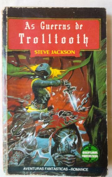 Rpg Livro-jogo As Guerras De Trolltooth