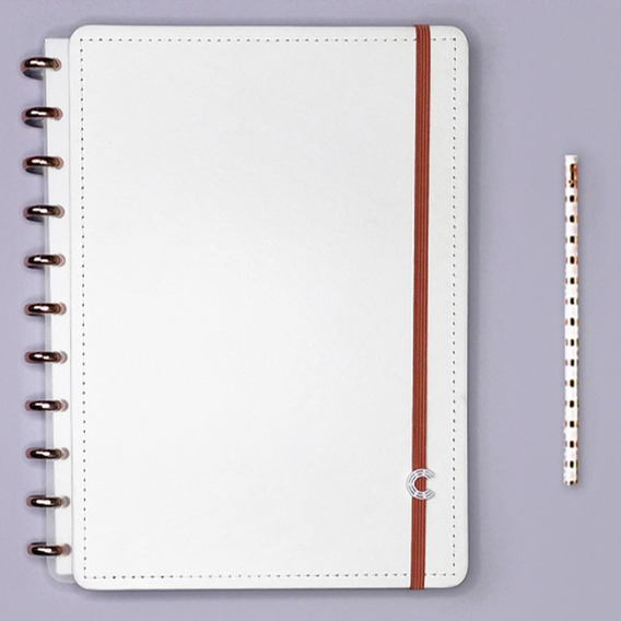 Caderno Inteligente Grande Deluxe All White