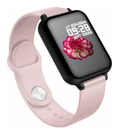 Pulsera Deportiva Bluetooth, Reloj Inteligente Android Y Ios