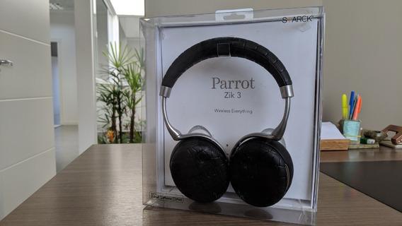Fone Parrot Zik 3 Cancelamento Ruido Noise Cancelling C/ Caixa