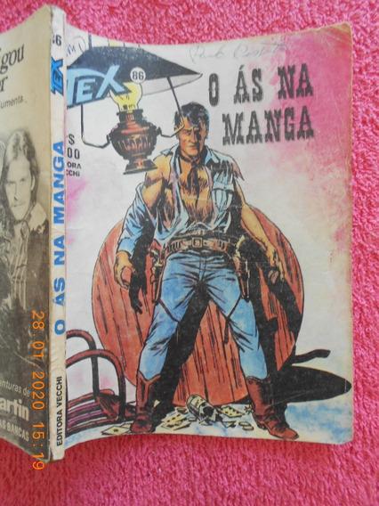 Revista Tex Nº 86 Primeira Edição Março 1978 O As Na Manga