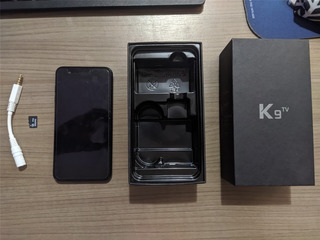 Celular Lg K9 Tv + Cartão De Memória 16gb + Carregador Port.