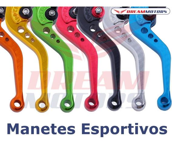 Par Manetes Esportivos Aluminio Hornet 2008 A 2014 Cbr600f