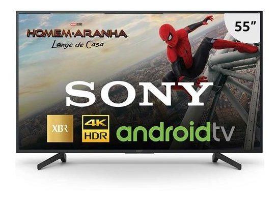 Smarttv 4k Sony 55 Chromecast Xbr-55x805g