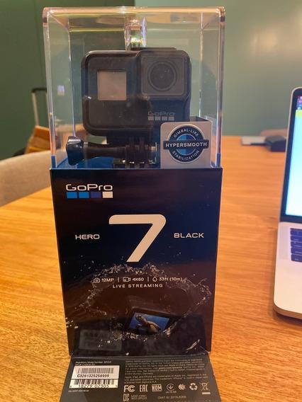 Gopro Hero 7 Black 4k Action Go Pro Como Nova Camera