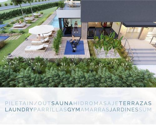 Oportunidad Inversión !!! Excelente 4 Ambientes Plus En Construcción En Edificio Vilago - Nordelta