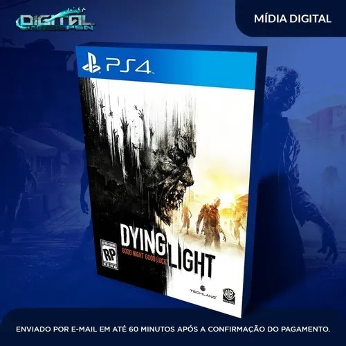 Dying Light Ps4 Mídia Digital Primária