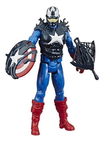 Imagen 1 de 6 de Spider-man Maximum Venom Figura De Acción Blast Gear 12  Cap