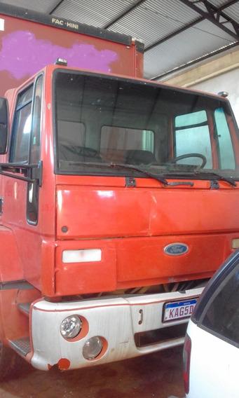 Ford Cargo 1717e Ano 2005 Toco Bau Sider C Plat Elevatoria
