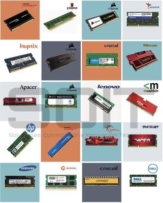 Memoria Ram Para Pc De Escritorio, Laptop, Servidores, Mac