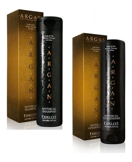 Kit Fidelite Argan Mythical Shampoo + Acondicionador 260 Ml