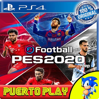 Pes 2020 Ps4 Digital / Efootball Pes 20 / Español Latino / 1°