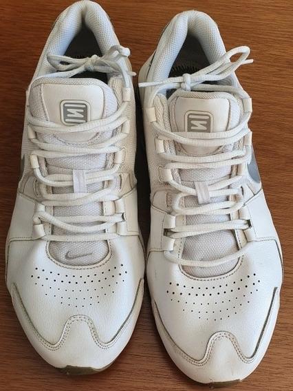 Tênis Nike Shox 4 Molas Branco Tam 13 U S A .obc Store