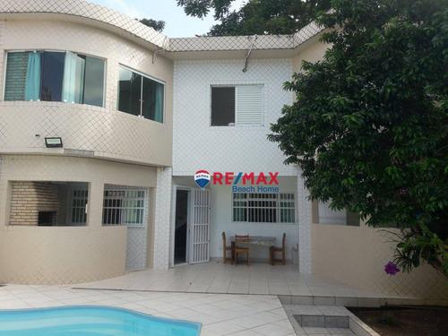 Imagem 1 de 30 de Casa À Venda, 250 M² Por R$ 800.000,00 - Jardim Três Marias - Guarujá/sp - Ca0339
