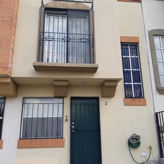 Casa En Renta Amueblada, Cerca De Parque Bernardo