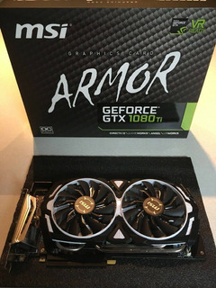 Msi Nvidia Geforce Gtx 1080 Ti Armor Oc 11gb