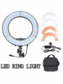 Led Ring Light Rl12 Original Greika C/ Nfe