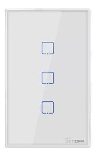 Sonoff T2 Us 3 Canales - Tecla De Pared Touch Wifi