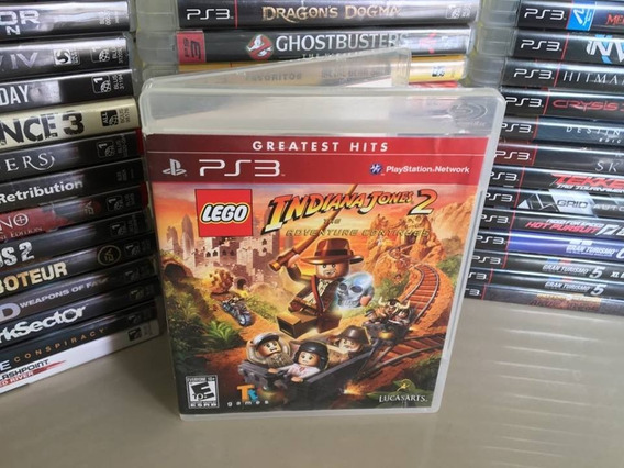 Lego Indiana Jones 2 Ps3 Semi Novo Original Dvd