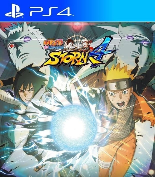 Naruto Ultimate Ninja Storm 4 Ps4 Original 1