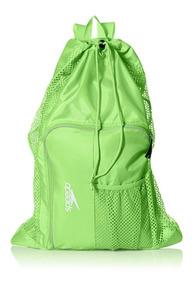 Speedo Deluxe Ventilator Mesh Equipment Bag, Frost Grey