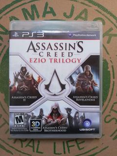 Assassing Creed Ezio Trilogy Ps3 + Envío Gratis Usado