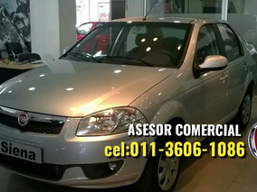 Fiat Siena El 1.4 Anticipo 28.900 Y Financiado!!.