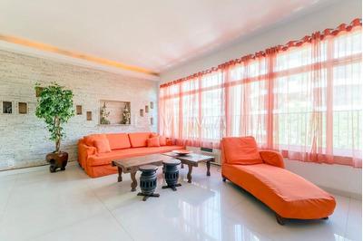 Incrível Apartamento Com Decoração Oriental, Ipanema, Rio De Janeiro. - Ap0301