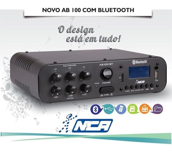 Receiver Slim Nca Ll Audio Ab100bt Amplificador Compacto