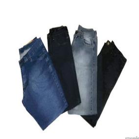 50ed1f6fa Kit 3 Calça Jeans Infantil Marca Slim Skinny Casual Promoção